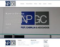 Pizá Cabruja & Asociados. Web +Sistema de Gestión