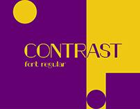 contrast display font / 2020