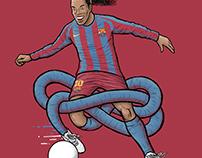 Gnarly Ronaldinho