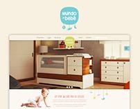 Website @ Mundo do Bebê