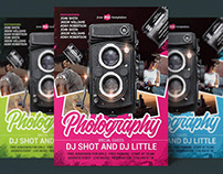 FREE PHOTOGRAPHY FLYER IN PSD