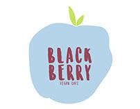 BlackBerry Vegan Cafe / Branding