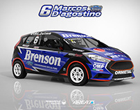 2017 Ford Fiesta Turismo Pista C3 - Marcos D'agostino