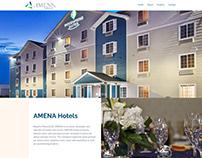 Amena Hotels ~ Webfolio