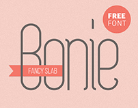 Bonie · Free Typeface