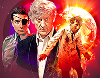 Doctor Who DVD Artwork