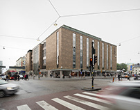 Medborgarhuset renovation