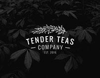 Tender Teas - Packaging Concept Design