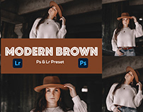 Modern Brown Photoshop Preset