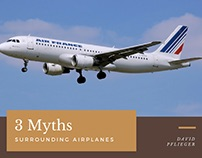 David Pflieger | Myths Surrounding Planes