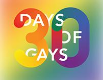 30 Days of Gays