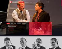 Diseño sitio web Teatro Nacional