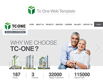 TC One Properties & Projects [Web Template]
