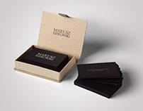 Minimalist & elegant personal business card.