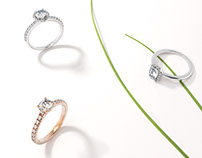 3D Product Rendering Jewelry for E-Commerce