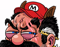 Super Over It Mario