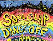 Soul Clap and Dance Off Posters