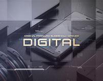 Digital Futuristic Parallax Slideshow | Opener