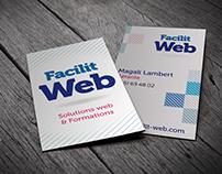 Facilit'Web - création de l'identité visuelle