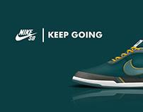 Skateboarding Sneakers Design/Nike SB