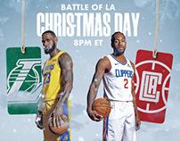 NBA on Christmas Day | Personal Work