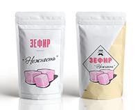 Marshmallows Label design