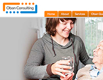 Oban Consulting Website Design & Development