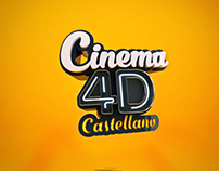 Title composition - Cinema 4D Castellano