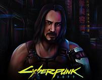 JOHNNY SILVERHAND | Cyberpunk2077 fan art | CD Projekt