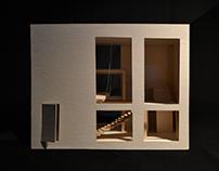 CB/Taller de composición II/Casa arquitecto/2013-2