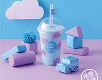RABBIT RABBIT TEA-限量產品規劃『朵朵冰沙』