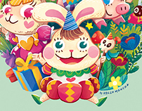 Illustration for Bunny King 10th Anniversary