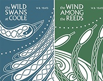 Book Covers for W.B. Yeats' Poetry and Prose