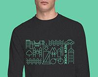 Department of Art & Design New York Shirt