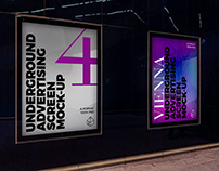 Vienna Underground Ad Screen Mock-Ups 2