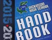 Student handbook cover art concept