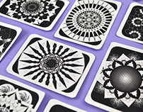 Mandala Playing Cards