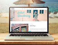 Travel Blogger & Artist Website
