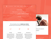 Creative Studio Homepage