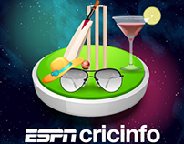 ESPN Cricinfo Web Banners & Posters