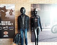 Visual Merchandising para Harley-Davidson Girona