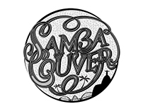 SAMBACOUVER BAND TYPOGRAPHY
