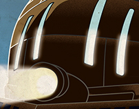 Final Fantasy Phantom Train Travel Poster - The RetroVG