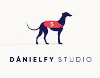 Dánielfy Studio logo design