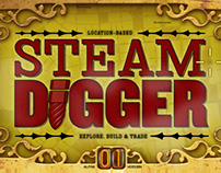 Steam Digger Game