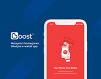 Boost e-wallet app [2017]