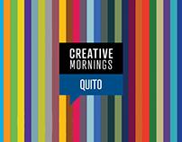 Voluntariado - Creative Mornings Graphic Design