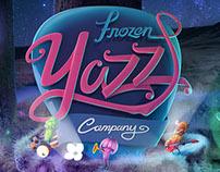 FROZEN YAZZ COMPANY BRANDING Design