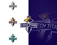 Czech Titans Logo.