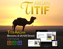 Titif Argan - UI/UX & Branding Design